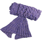Altatac Mermaid Tail Knit Crochet Warm & Soft Handmade Sleeping Sofa Blankets
