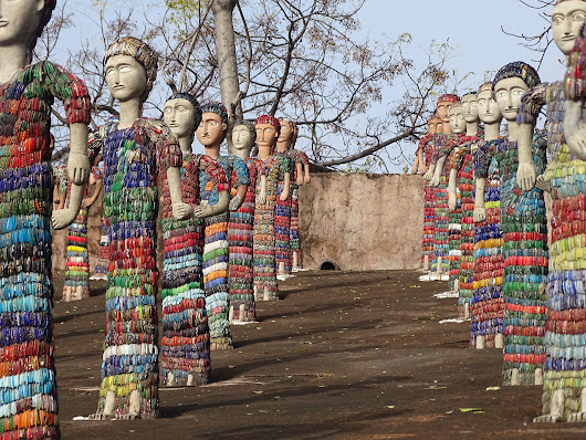 Nek Chand's Rock Garden of Chandigarh - metropic