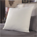 Restful Nights European Square Pillow - White