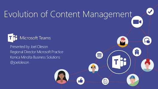 Evolution of Enterprise Content Management