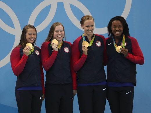 U.S. swimmers win historic 1,000th Olympic gold medal for Team USA