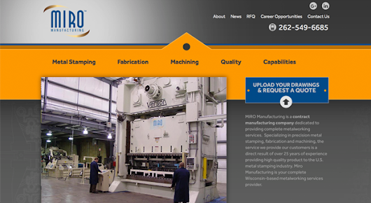 Miro Tool & Mfg. Changes Name to Miro Manufacturing Inc., Launches New Website - Industrial Machinery Digest