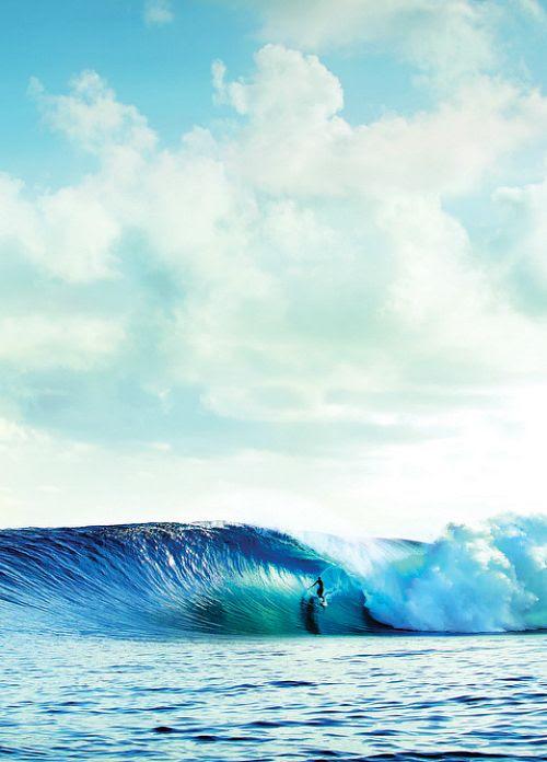 The Blue Ocean.