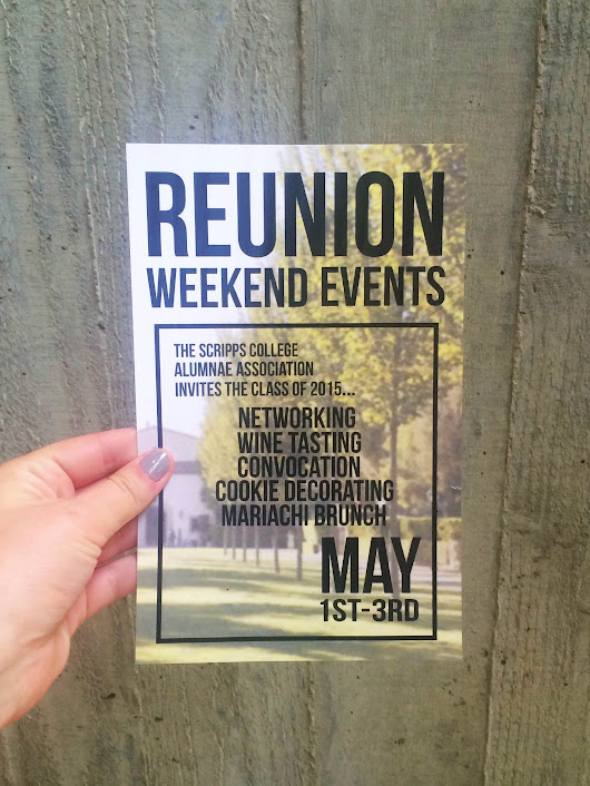 Reunion Weekend Invitations