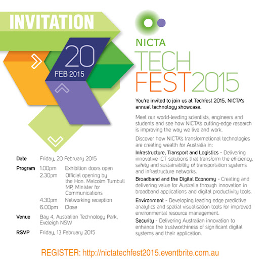 NICTA TECHFEST 2015