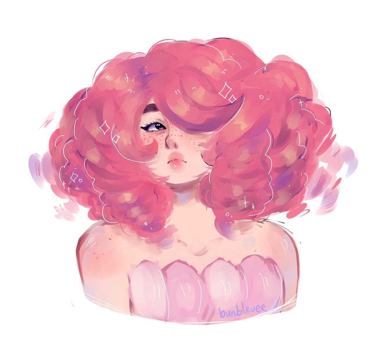 i drew a rose quartz :O