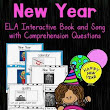 New Years Interactive Vocabulary Book/Song
