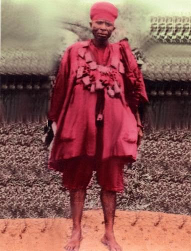 General Ogedengbe Agbogungboro, The Commander-in-Chief of the Ekiti-parapo Army - The Yorubaland Kiriji War of 1877-1892 (www.ogedengbe.com)