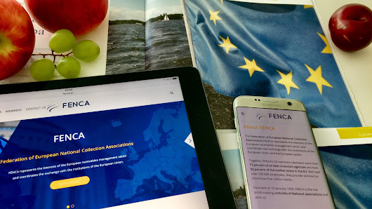 The European Debt Collection Industry has a new homepage - FENCA