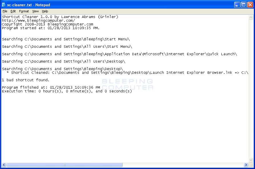 Shortcut Cleaner 1.2.8.0
