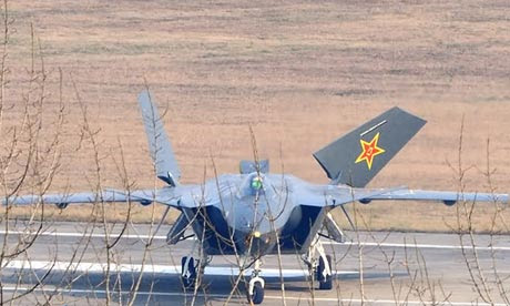 Photos leaked online appear to show a prototype of China's J-20 stealth fighter jet