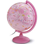 Waypoint Geographic Safari Explorer Animals Globe Pink