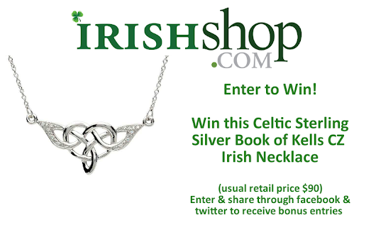Win an Irish Sterling Silver Celtic Necklace