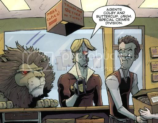 from Chew 23, by John Layman and Rob Guillory