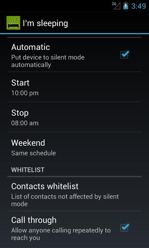 put Android Phone silent mode How To Automatically Put Your Android Phone on Silent Mode with Bypass Some Numbers