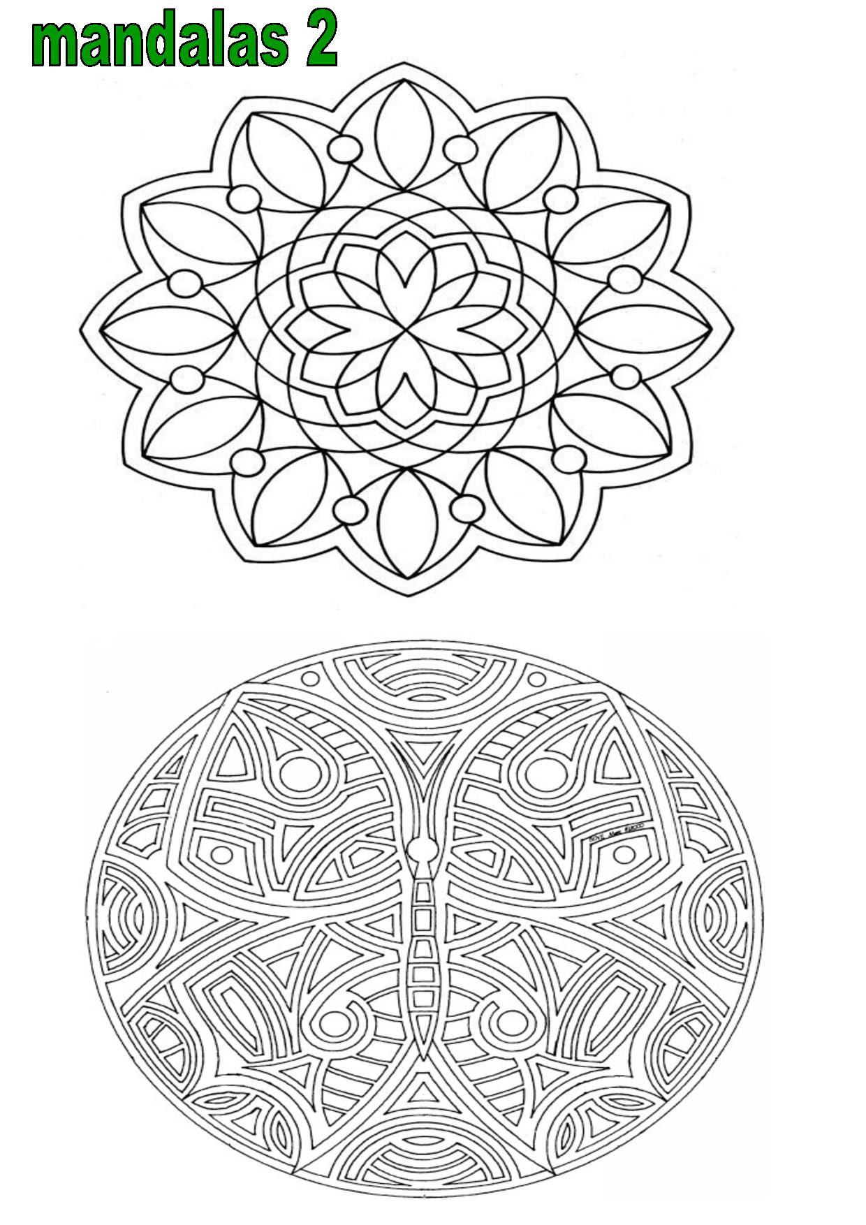 Mandalas à Colorier Ce1 Ce2 Cm1coloriage éducatifs