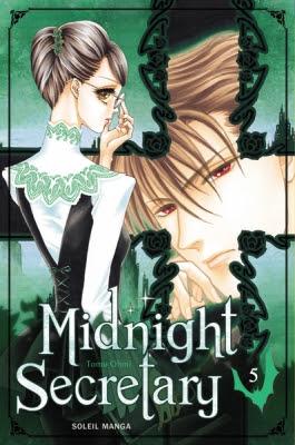 Couverture Midnight Secretary, tome 5