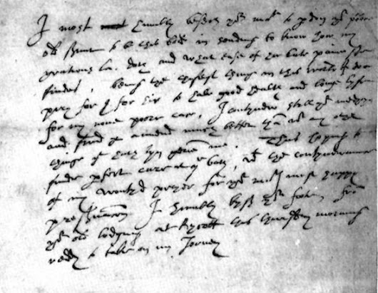 August 29, 1588 - Leicester's Last Letter to Elizabeth I - Janet Wertman