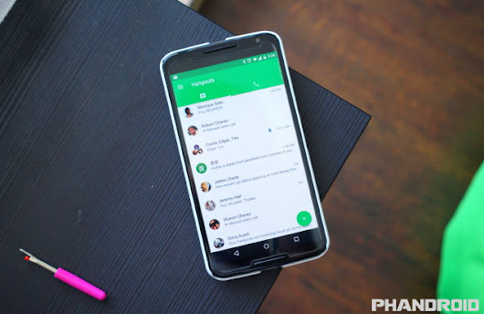 Google Hangouts is killing SMS support on May 22nd