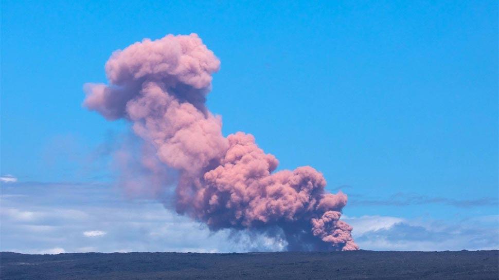 अमेरिका के इस द्वीप पर 24 घंटे में 250 बार आया भूकंप, शांत पड़े ज्वालामुखी में हुआ विस्फोट