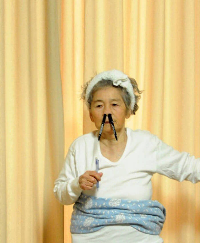 89 year old japanese grandma epic selfies 8 (1)