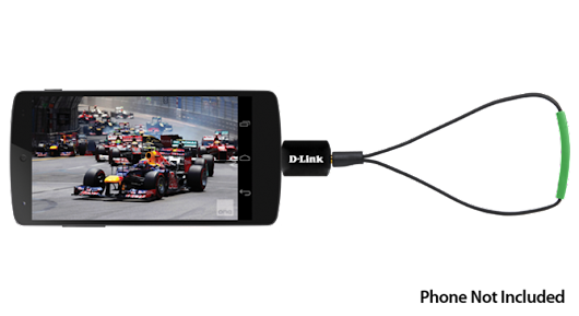 D-Link Australia Announces USB-Powered Portable DVB-T TV Tuner And App For Android