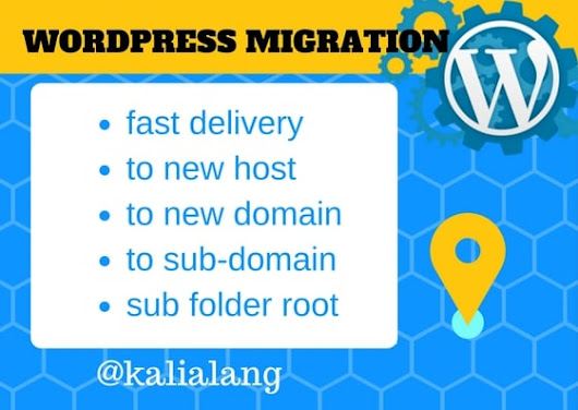 I will do migrate your Wordpress or any website to your new Hosting
