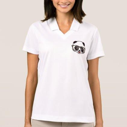 Cute Panda Polo Shirt