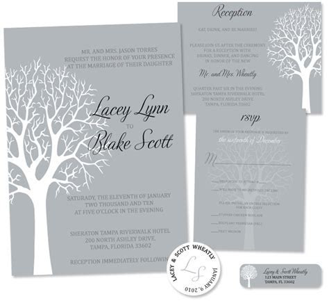 Ideas For Your Winter Wedding Invitation Ideas(Parte Two)