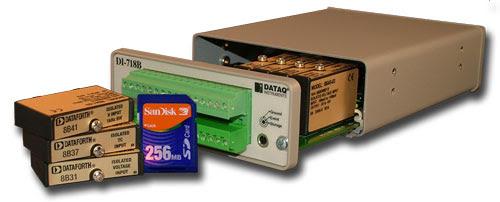 Data Logger System DI-8B - DATAQ