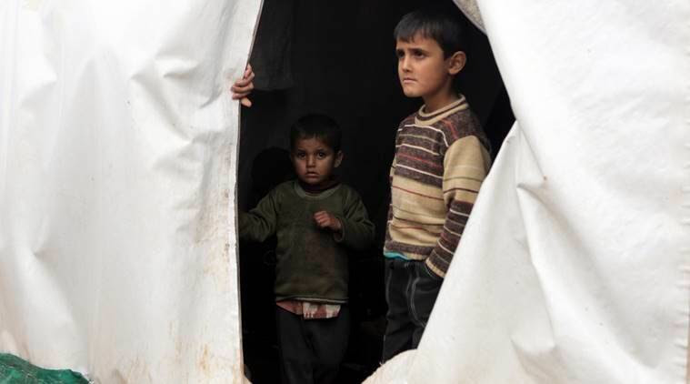 Effect on children due to Syrian war