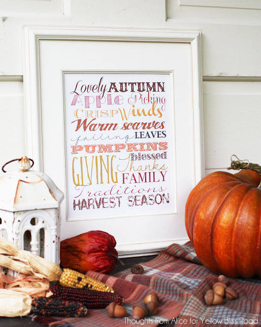 15 Free Fall Printables - Inside the Fox Den