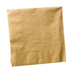 Gold Lunch Napkins (20)