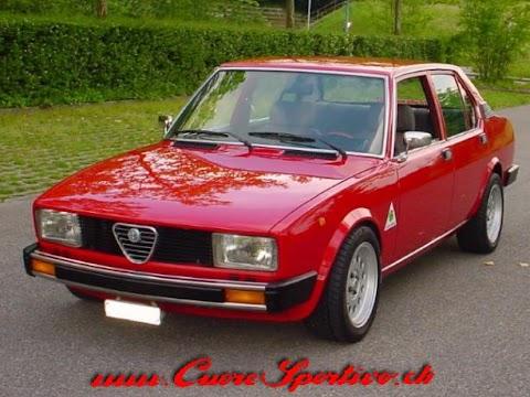 1982 Alfa Romeo Alfetta Sedan