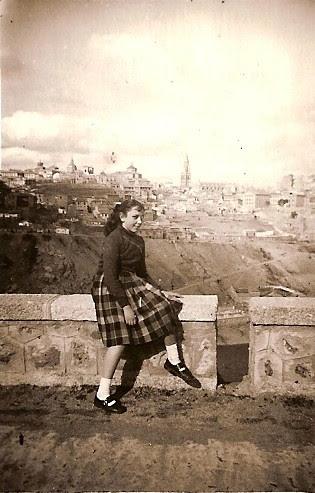 En el Valle, años 50