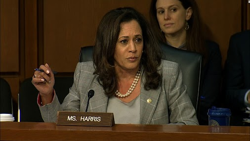 Former California Attorney General turned US Senator Kamala Harris continues her attack on the Second...