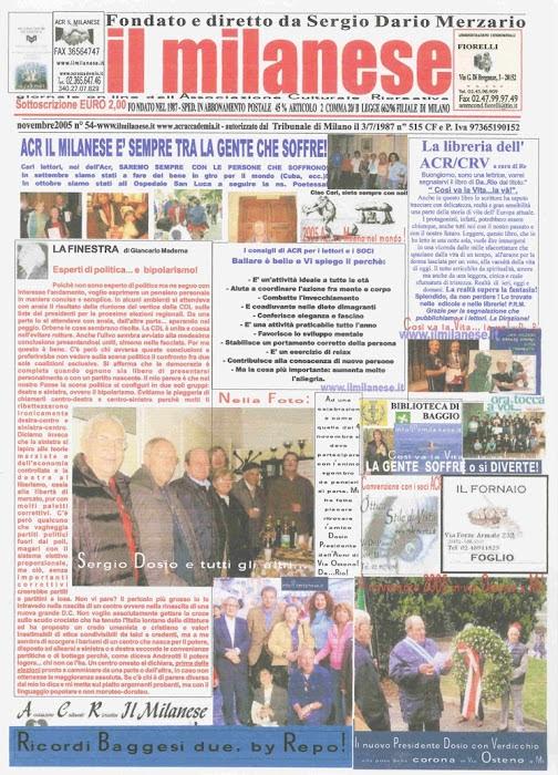 IL MILANESE.. DI NOVEMBRE 2006