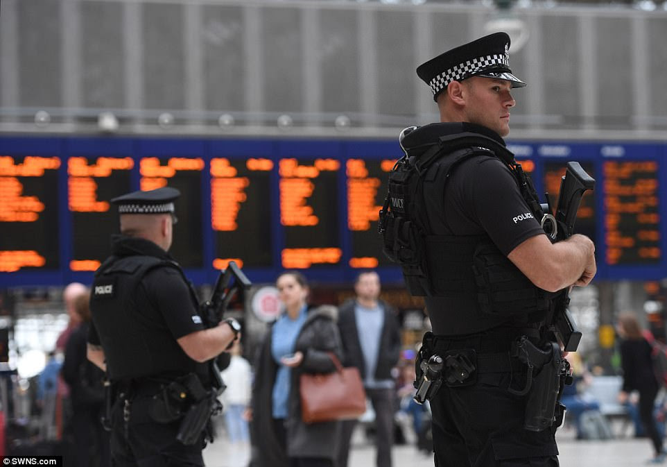 Armed police were today seen at Glasgow Central Station following the attack on Manchester Arena. Police Scotland and the Scottish Government have confirmed that following several meetings security would be stepped up at transport hubs