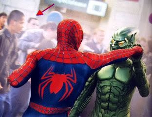A screenshot from 2002's SPIDER-MAN.