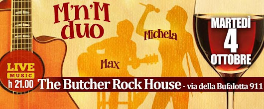 MnM duo live @The Butcher Rock House