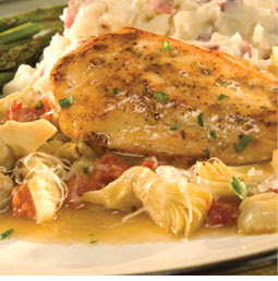 Chicken with Artichokes