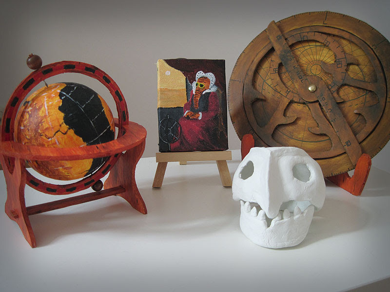 Some objects I've made for the Wunderkammer course