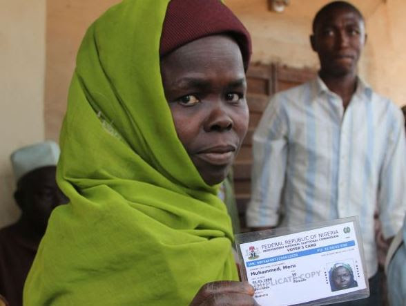 Voting in Nigeria's presidential election