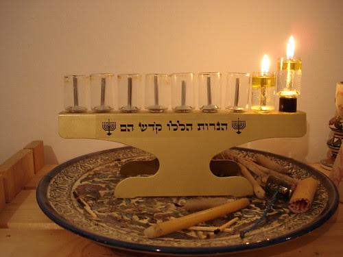 First light of Hanukkah 5768