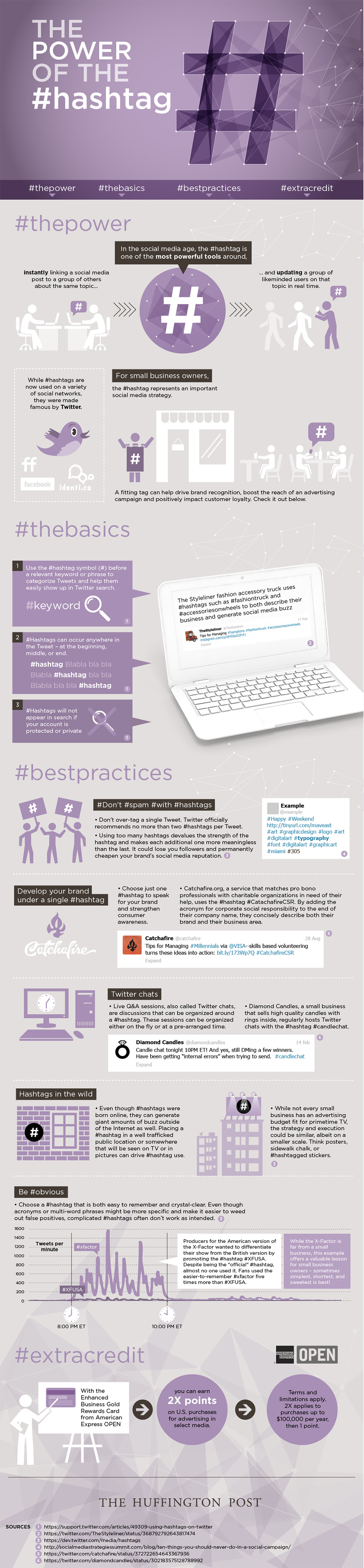 Best Practices For Using Hashtags - Infographic, The Real Power Of The Hashtag - Infographic