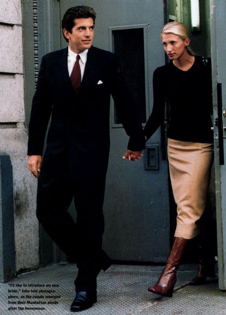 John F Kennedy Jr And Carolyn Bessette Dating Gossip News Photos
