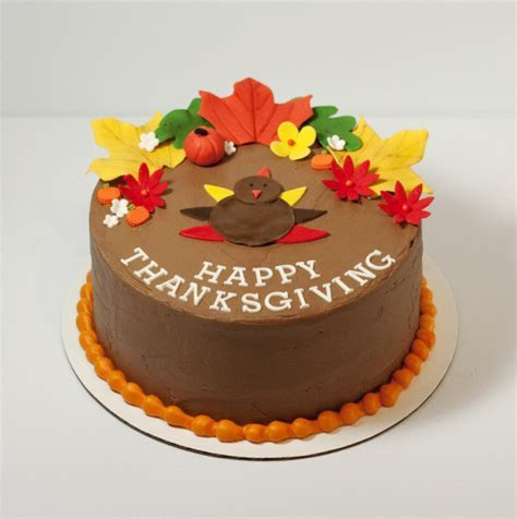 Thanksgiving cake   Sweets By Selina   Dallas Custom Cakes