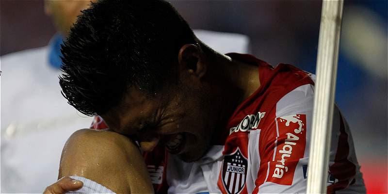 Teófilo Gutiérrez antes de la lesión vivía un buen momento con Junior.