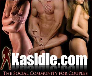 Kasidie.com... for swingers, by swingers.