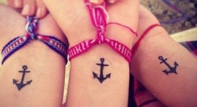8 Great Examples of Matching Tattoos – Partners in Ink!